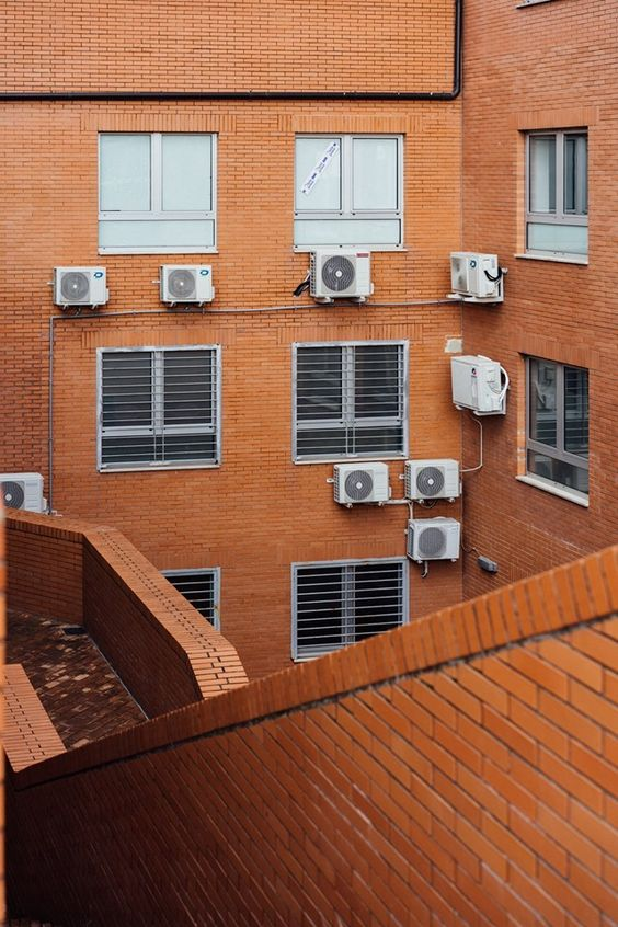 outdoor component of the air con HVAC Watertown NY Tips On Installing and Positioning Your Air Con