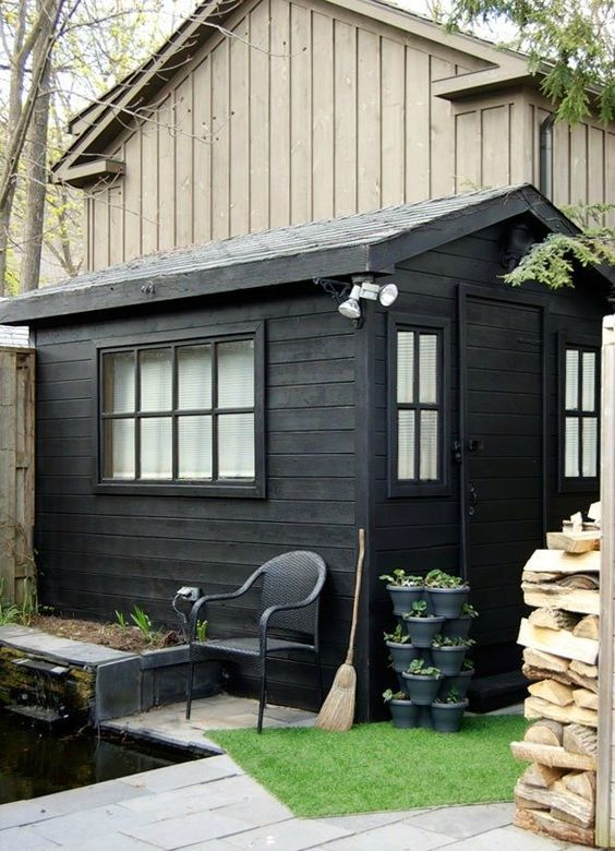 black garden shed How To Choose The Right Shed For Your Backyard Space