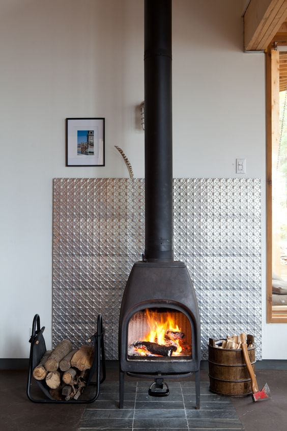 wood burning stove 5 Tips For Making Your Home More Comfortable