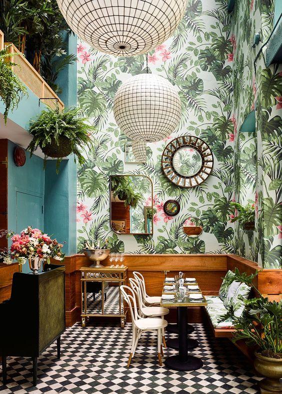 tropical bar 7 Interior Design Ideas for the Summer