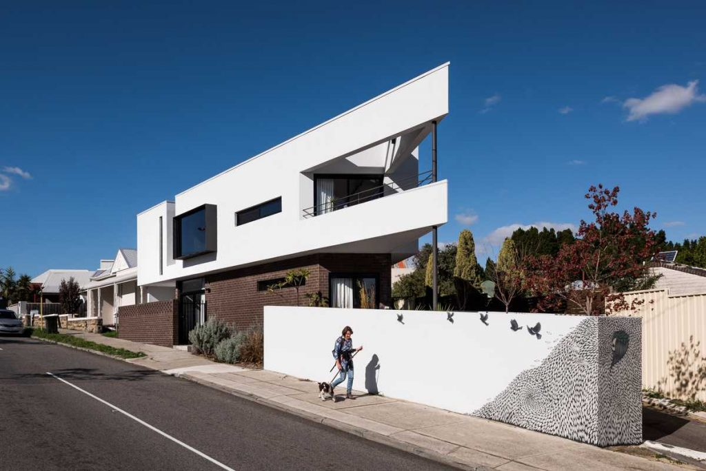 %name The Triangle House by Robeson Architects