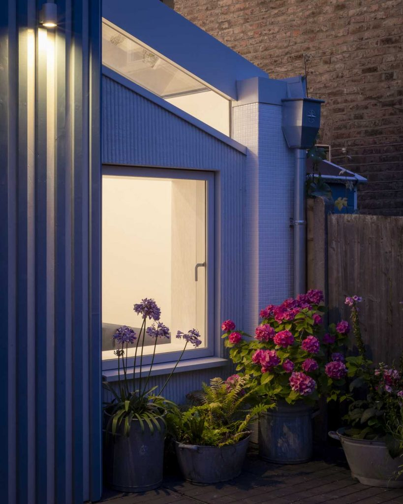 %name Rear extension to a Victorian terrace house by CAN