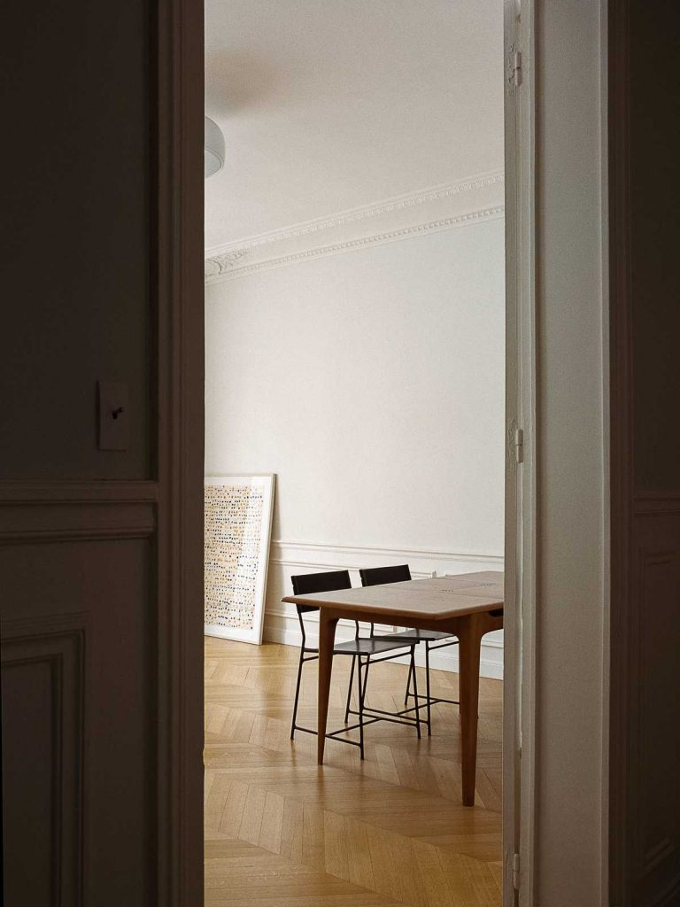 %name Apartment renovation inspired by the Danish painter Hammershøi