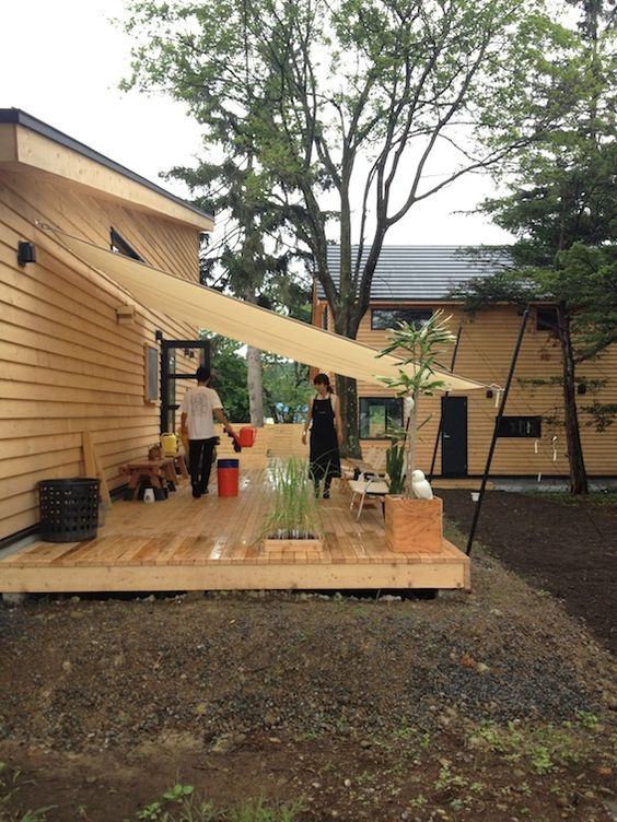 backyard deck How to Create the Perfect Backyard for Your Peaceful Hideout