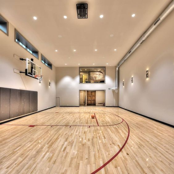 indoor basketball court Basketball floors that deliver
