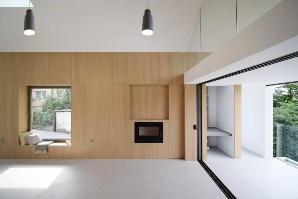 %name Studio extension and refurbishment of a typical Bosnian family house