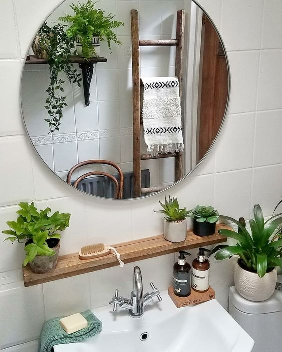 neat bathroom How to Clean a New House
