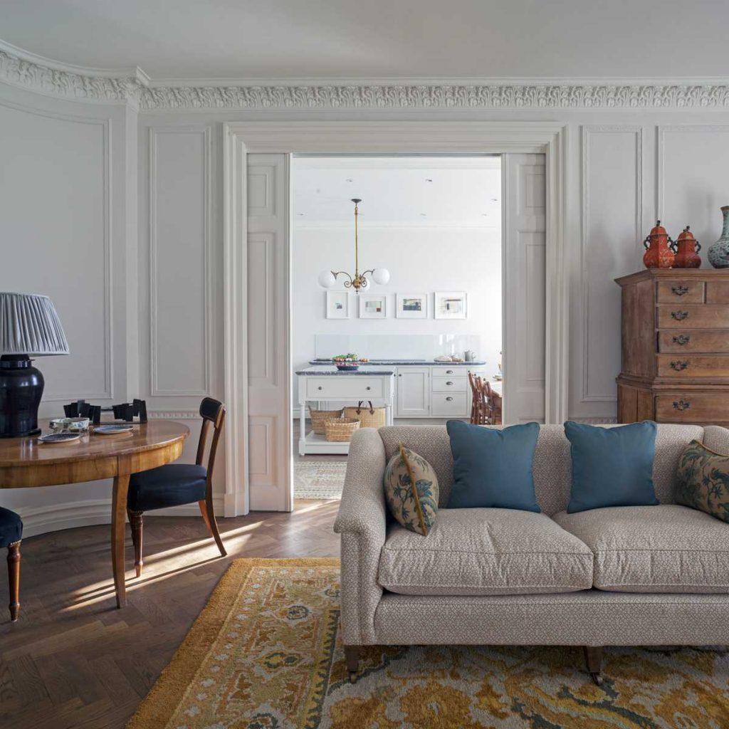 Refurbishment of a Marylebone Apartment by Nash Baker Architects