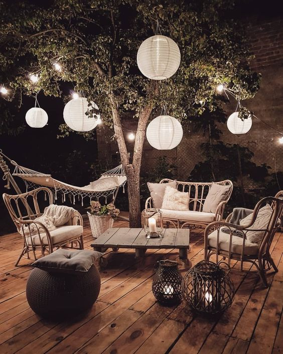 cozy outside space How to Create A Thrilling Outdoor Space