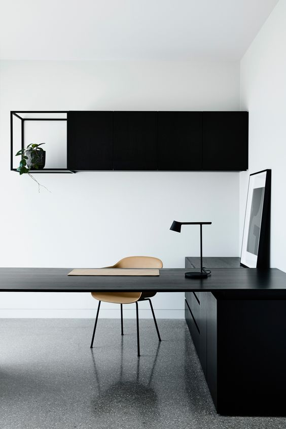 minimalist workspace How to Reduce Workplace Electricity