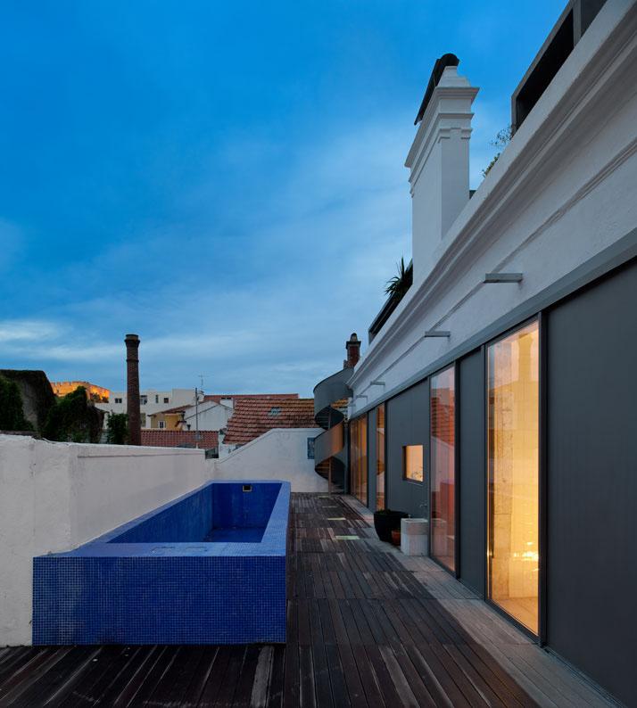 GMG House Pedro Gadanho 22 Multicolor and Contemporary Interior in Portugal