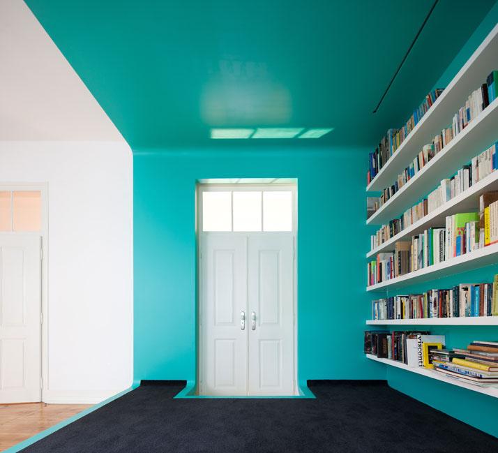 GMG House Pedro Gadanho 5 Multicolor and Contemporary Interior in Portugal