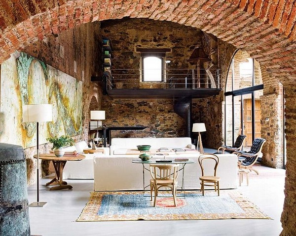 Rustic but modern living in 12th century Oil Mill