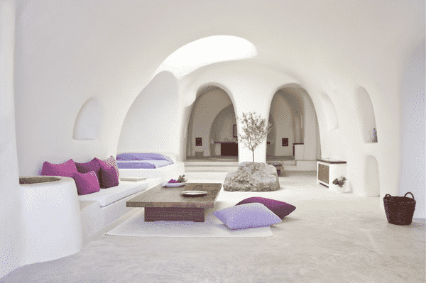 s Mediterranean inspired interior: airy fairy and brightness