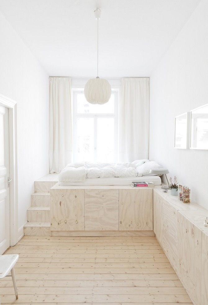 White Wood Interior 10 Elegant and Functional Minimalist Bedroom Ideas You Can Try Right Now