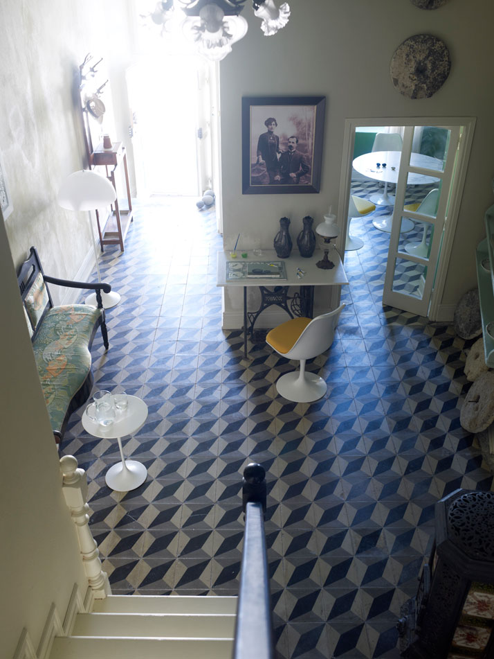 greek16 From 1890s Cement Tiles to Tulip Chairs
