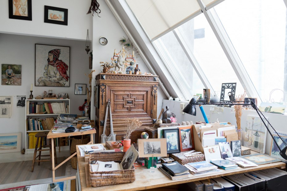 Freunde4 Warm Canal House in Amsterdam of 100 Years Old Lady