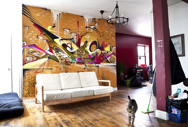 Graffiti Interior 10 Ideas Of Decorating With Graffiti