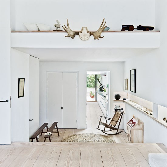 interior house london terrace 1 Soft White in East London