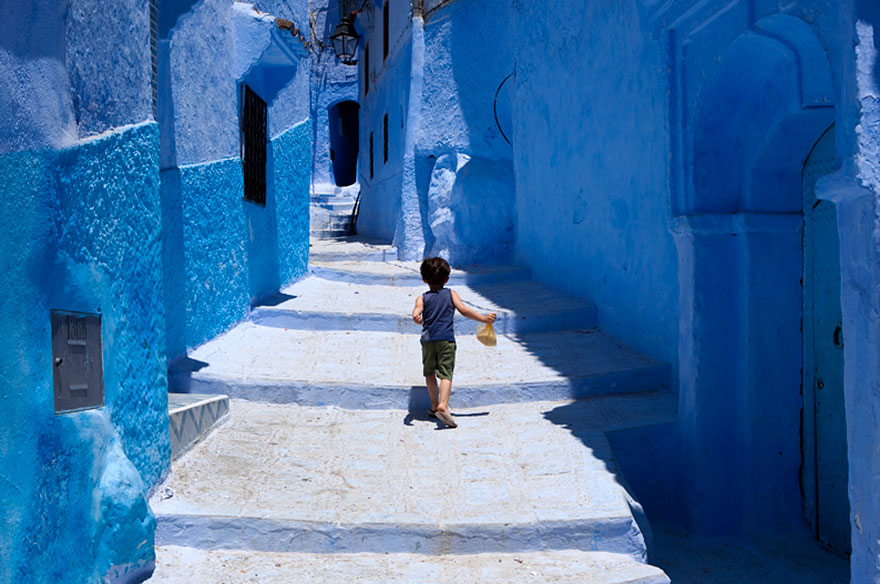 blue11 Blue, Even Green Old Town in Marocco