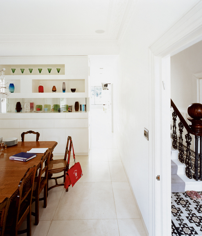 brenner house dining room Modern Extension to a Victorian House
