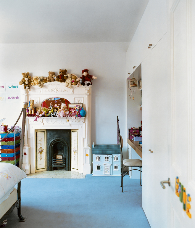 brenner house kids bedroom Modern Extension to a Victorian House