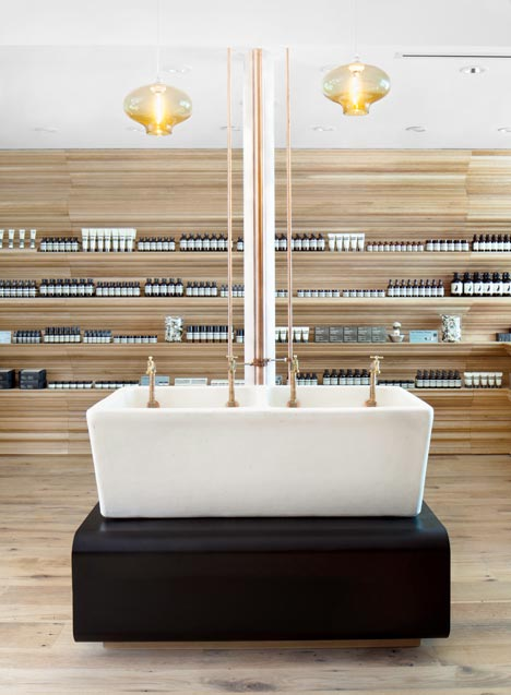 dezeen Aesop Newbury Street by William O Brien Jr 3 15 Ideas For A Stylish Beauty Salon
