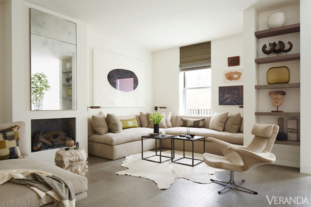 VER richard hallberg boston bedroom seating area Calm and Serene Apartment in Boston