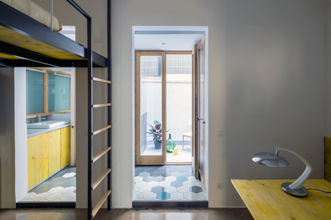 groc 061 Apartments In Barcelona by Spanish Studio Nook Architects
