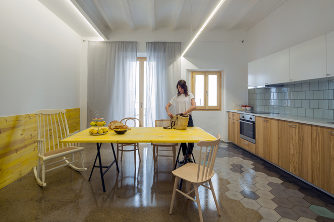 groc 141 Apartments In Barcelona by Spanish Studio Nook Architects