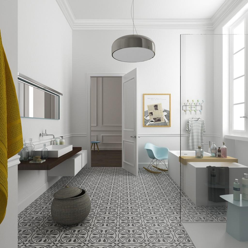 hamburg bathroom 1024x1024 Space Expansion Of Filippo Carandini
