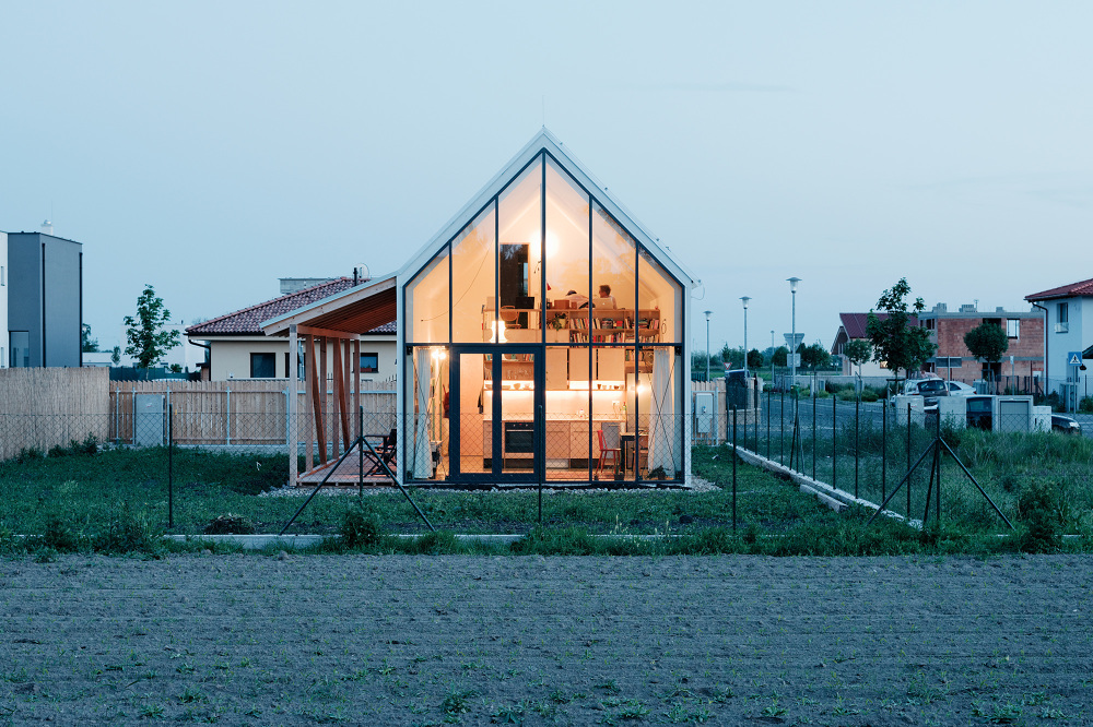 jrkvc18 Simple But With Contemporary Feeling Family House in Slovakia