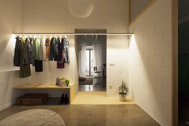 twin061 Apartments In Barcelona by Spanish Studio Nook Architects