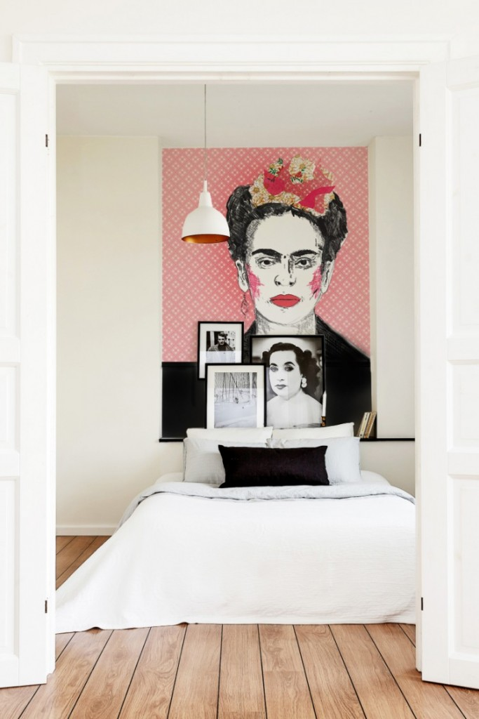 Frida Kahlo 683x1024 Wall Accent Ideas to Spice up Your Interior Design