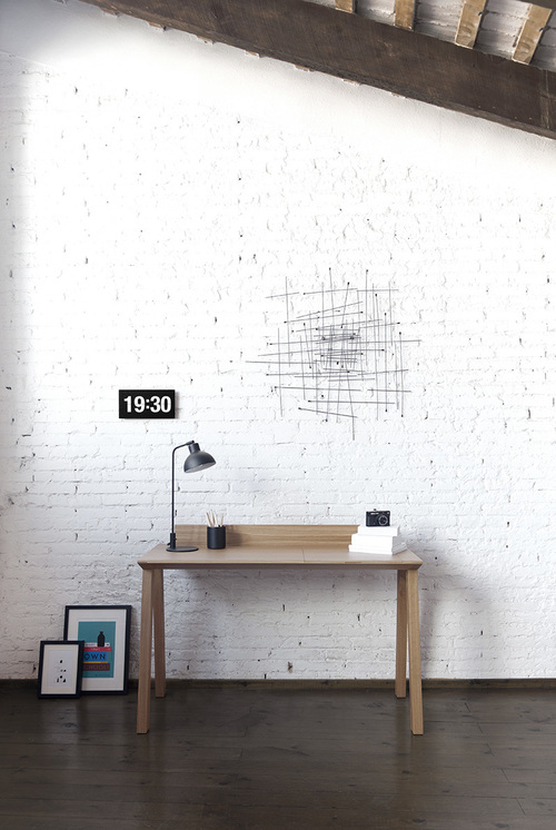 n1 Ernest Desk   a minimalist office desk by designer Borja Garcia