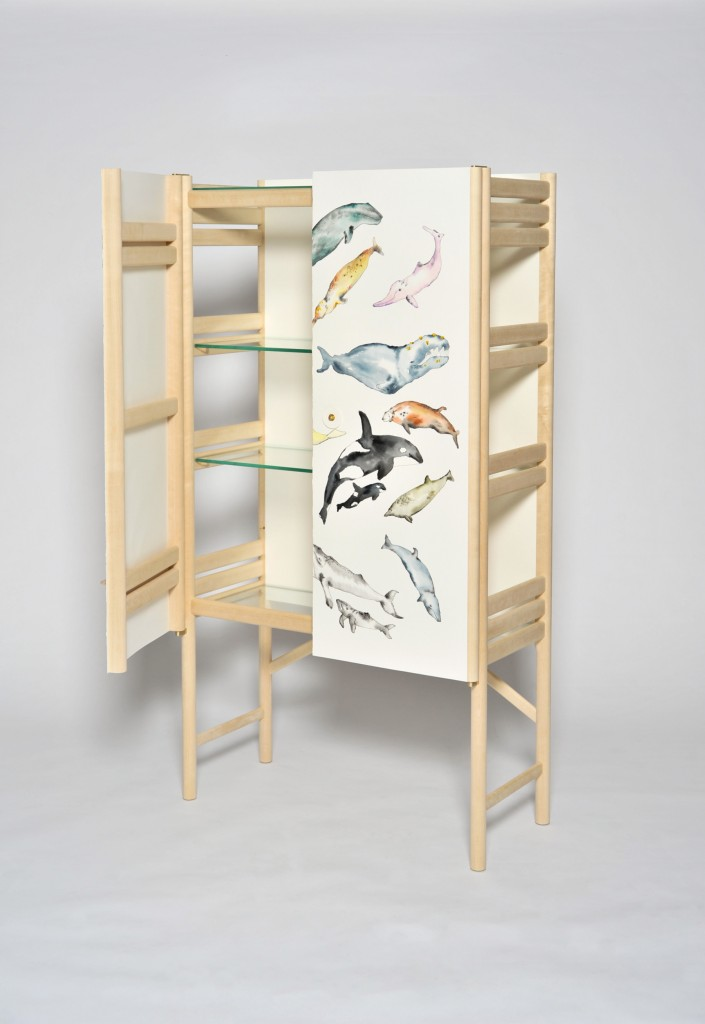 the whale cabinet by david ericsson 2 705x1024 The Whale Cabinet By David Ericsson