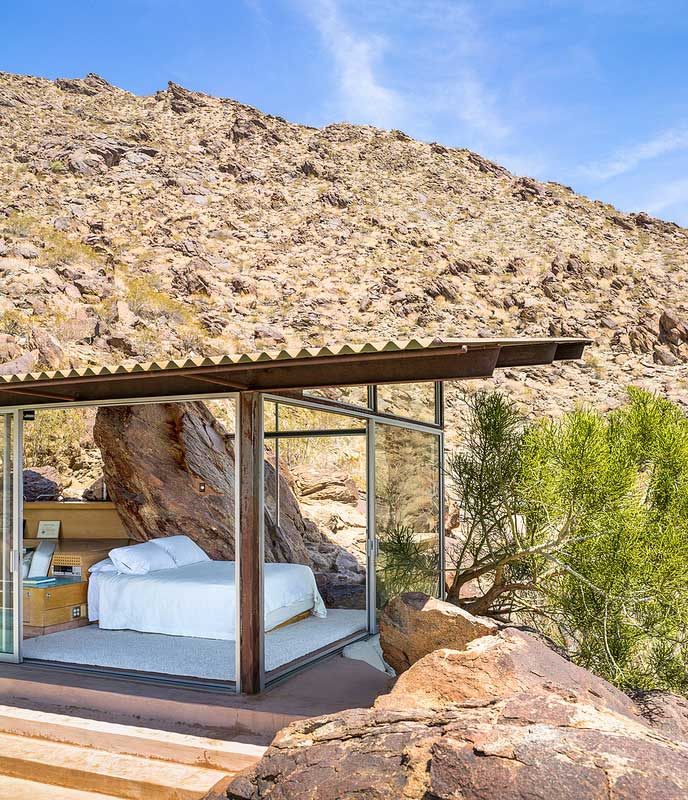 Back To The Future: Mid-Century and Rocks In The Palm Springs