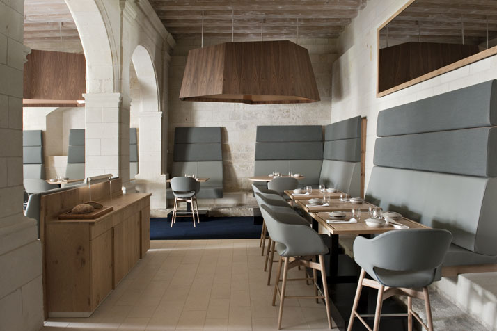 10 agence jouin manku abbaye de fontevraud photo nicolas matheus yatzer Fontevraud Abbey Hotel