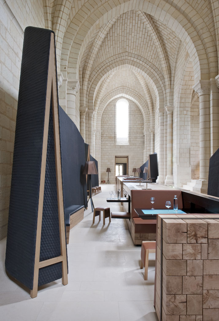 11 agence jouin manku abbaye de fontevraud photo nicolas matheus yatzer Fontevraud Abbey Hotel