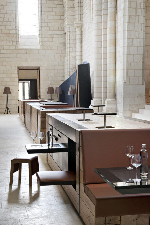 12 agence jouin manku abbaye de fontevraud photo nicolas matheus yatzer Fontevraud Abbey Hotel