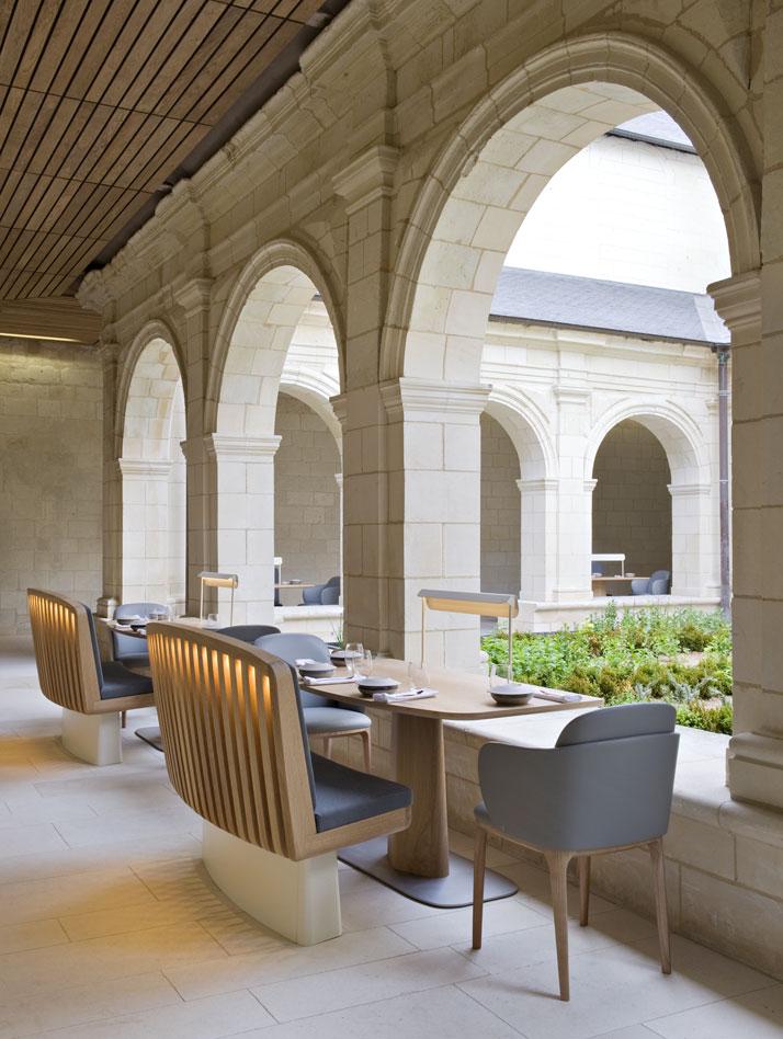 21a agence jouin manku abbaye de fontevraud photo nicolas matheus yatzer Fontevraud Abbey Hotel