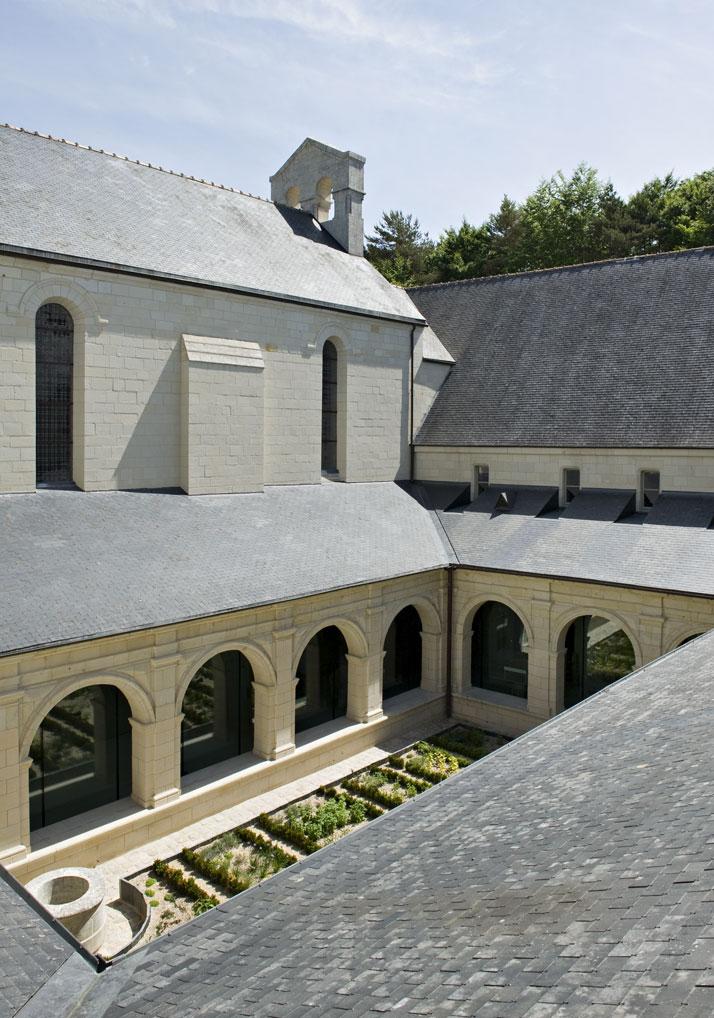 3 agence jouin manku abbaye de fontevraud photo nicolas matheus yatzer Fontevraud Abbey Hotel