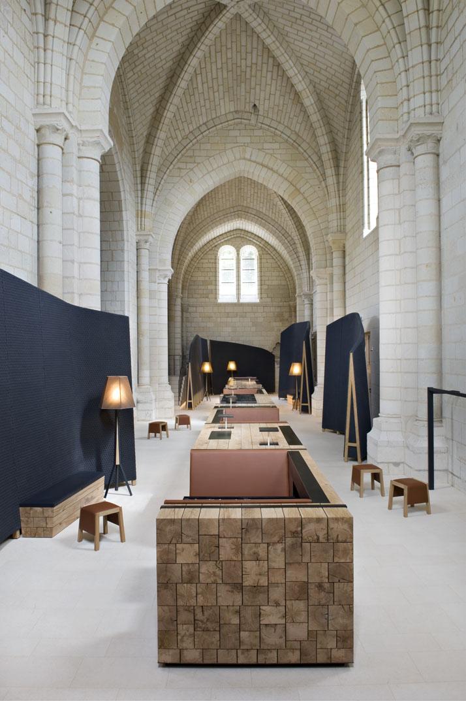 5 agence jouin manku abbaye de fontevraud photo nicolas matheus yatzer Fontevraud Abbey Hotel