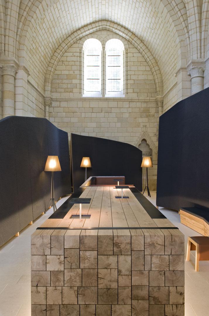 7 agence jouin manku abbaye de fontevraud photo nicolas matheus yatzer Fontevraud Abbey Hotel