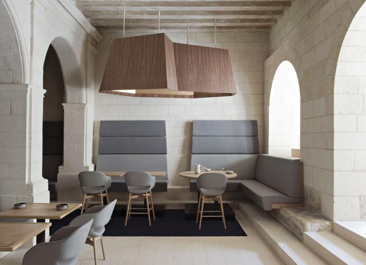8 agence jouin manku abbaye de fontevraud photo nicolas matheus yatzer Fontevraud Abbey Hotel