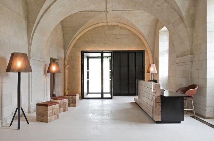 agence jouin manku abbaye de fontevraud nicolas matheus yatzer Fontevraud Abbey Hotel