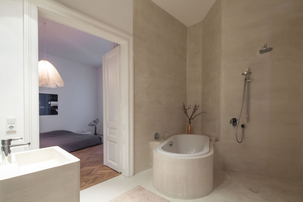 viennese apartment by studio destilat 3 1024x683 Boost Your Bathrooms Beauty: How to Choose the Perfect Bathtub