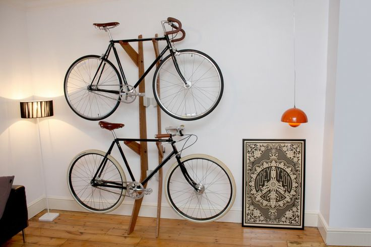branchline rack Bike Storage Ideas: 30 Creative Ways of Storing Bike Inside your Home