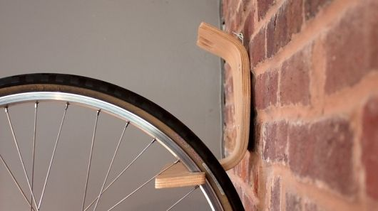 elegant minimal wall rack Bike Storage Ideas: 30 Creative Ways of Storing Bike Inside your Home