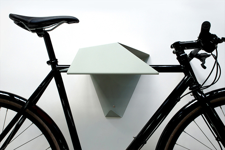 geometric rack Bike Storage Ideas: 30 Creative Ways of Storing Bike Inside your Home